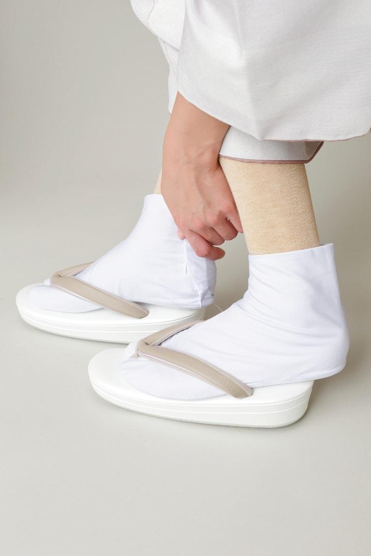 足袋下ハイソックス