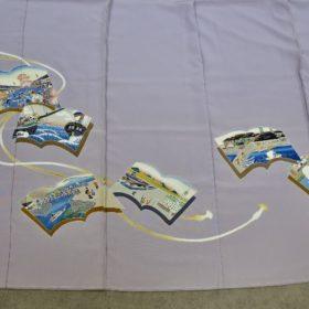 横浜の色留袖の裾のアップ