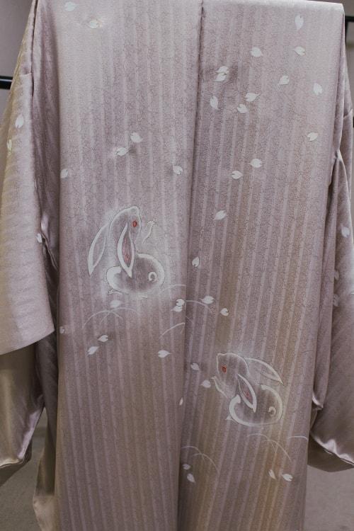 加納知之先生のうさぎの羽織