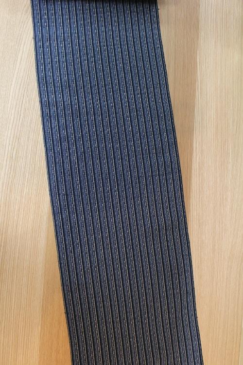 ざざんざ織の着尺