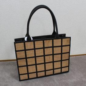 大岡川の桜を使ったバッグ